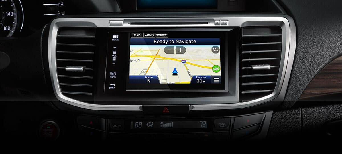 2017 Honda Accord Sedan Navigation