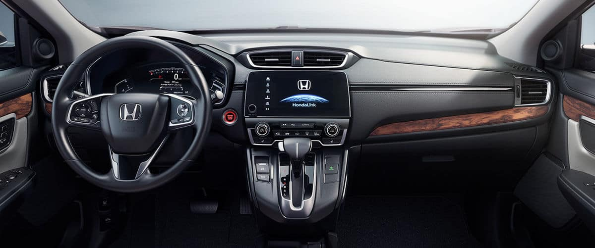 2017 Honda CR-V front interior