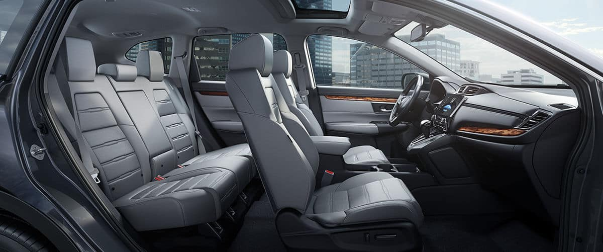 2017 Honda CR-V seating