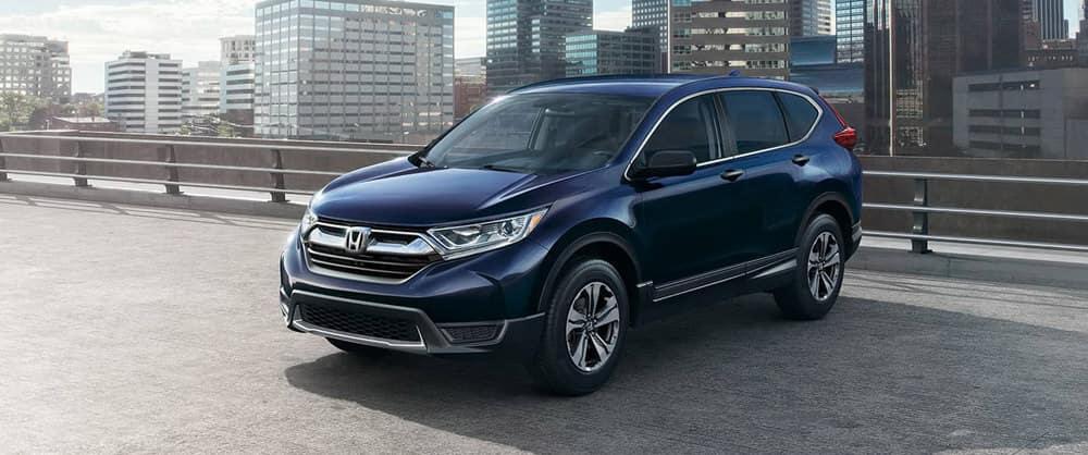 2018 Honda CR-V blue exterior
