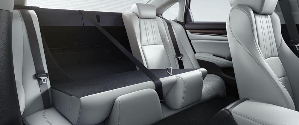 2018 Honda Accord rear seat folding