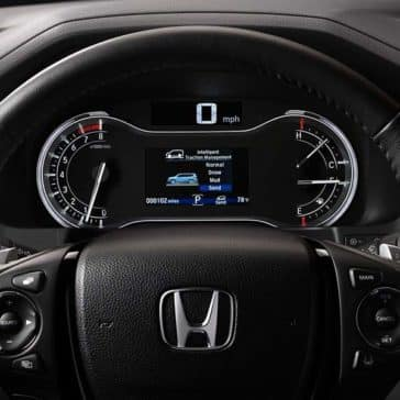 2018 Honda Pilot front interior