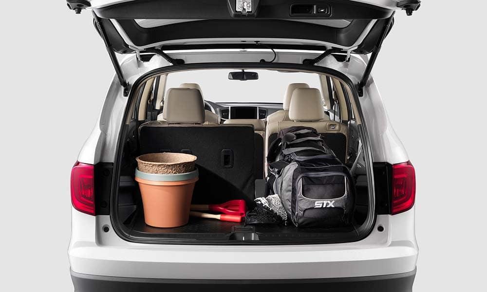 2018 Honda Pilot cargo space