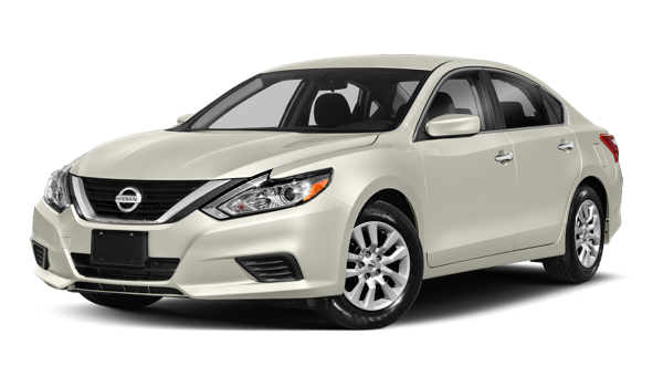 2018 Nissan Altima white background