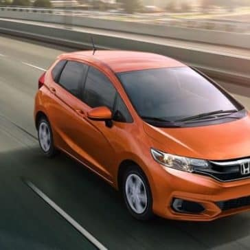 2019 Honda Fit orange exterior