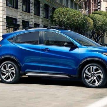 2019 Honda HR-V Blue Exterior