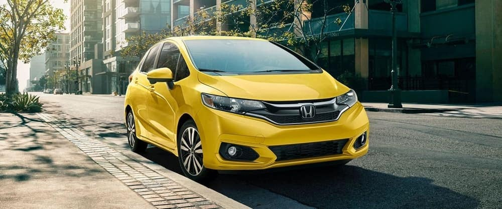 2019 Honda Fit Yellow Exterior