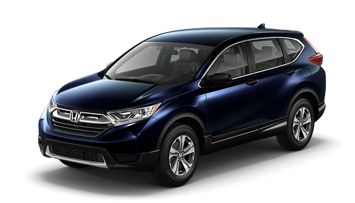2018 Honda CR-V LX in Obisidian Blue Pearl