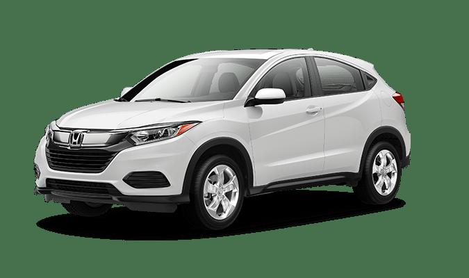 2019 Honda HR-V LX in Plantinum White Pearl