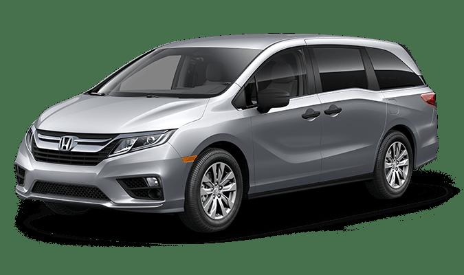 2019 Honda Odyssey LX Lunar Silver Metallic