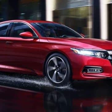 2019 Honda Accord In the Rain