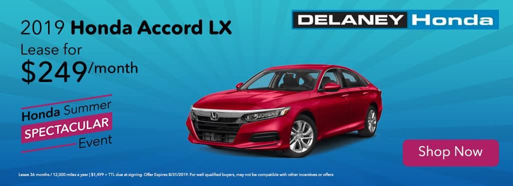 New 2019 Honda Accord Sedan LX 1.5T FWD