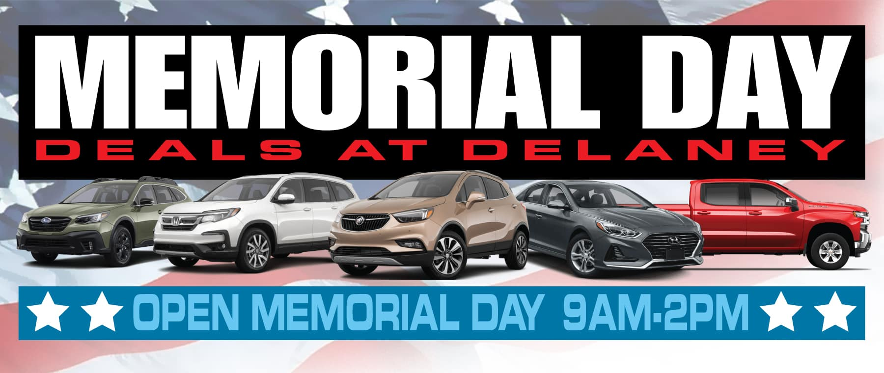 2020 Memorial Day Sales Hours