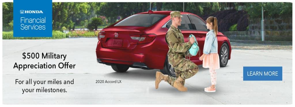 Honda Military Offer