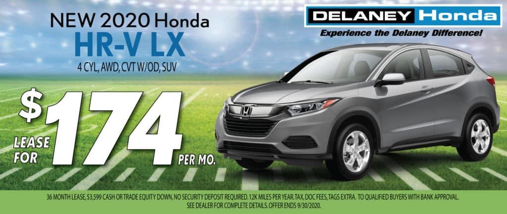 2020 Honda HR-V LX Lease Offer