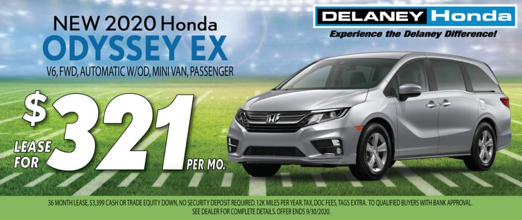 2020 Honda Odyssey EX Lease Offer
