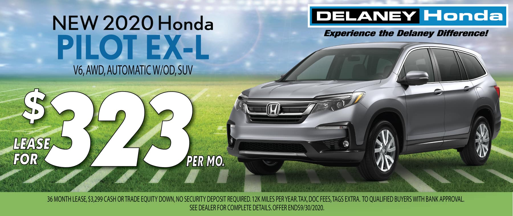 Honda Pilot Lease Offer