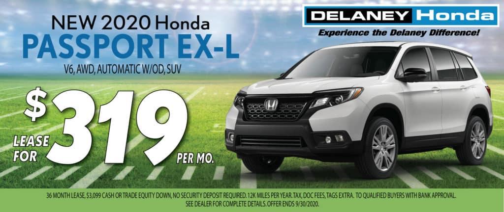 2020 Honda Passport EX-L Lease Offer