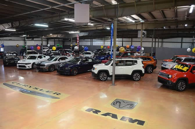 nice indoor showroom pic