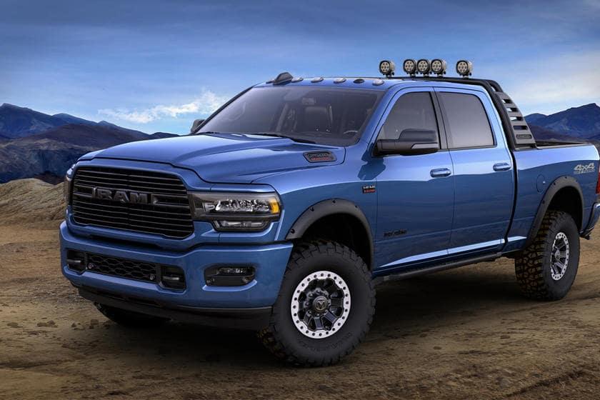 2020 blue Ram 2500