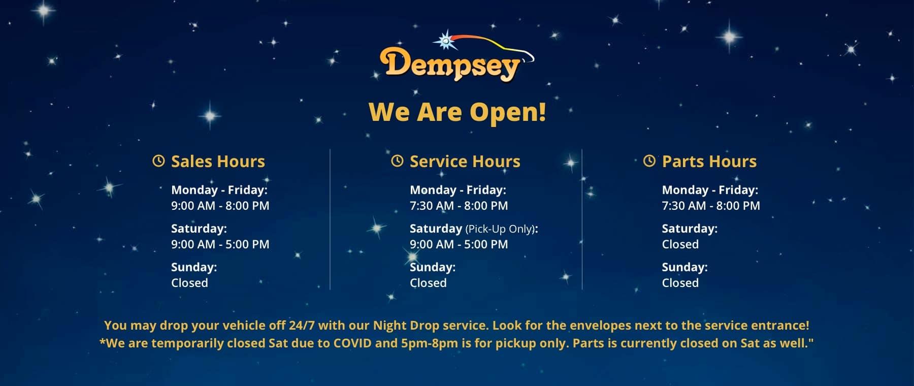 dempsey-open-hours-banner (1)