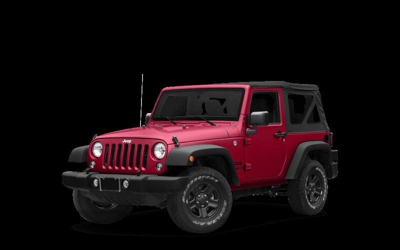 2018 Jeep Wrangler JK red exterior