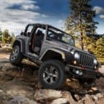 2018 Jeep Wrangler on Rocky Trail
