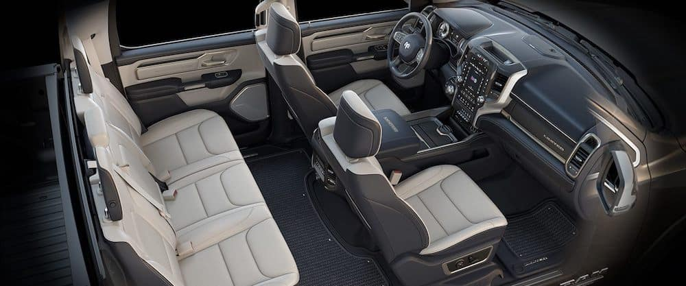 2019 RAM 1500 Interior Bucket Seats