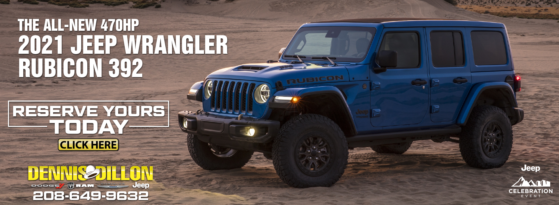 CJDR BANNER 2021 JEEP WRANGLER March and April 2021