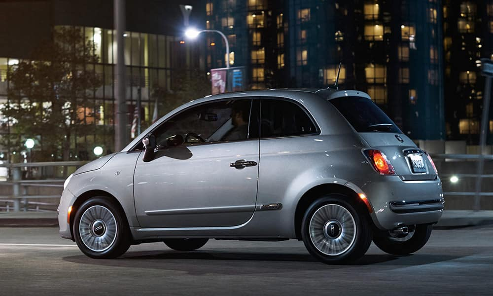 2017 Fiat 500 Hatch City Driving