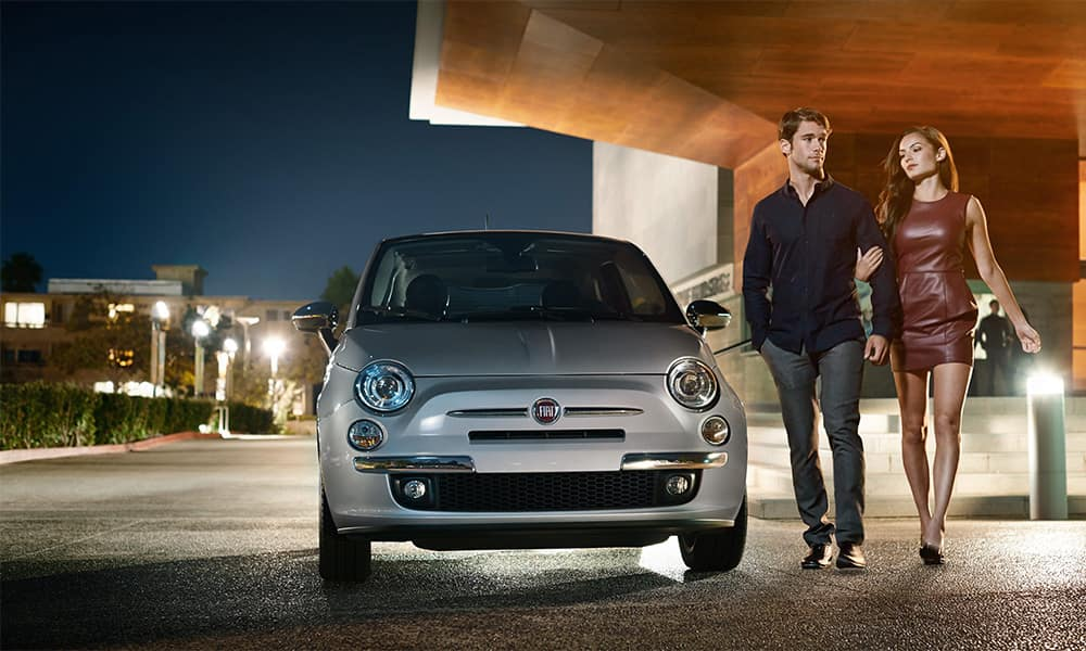2017 Fiat 500 Parked
