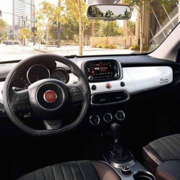 2018 Fiat 500X Dashboard