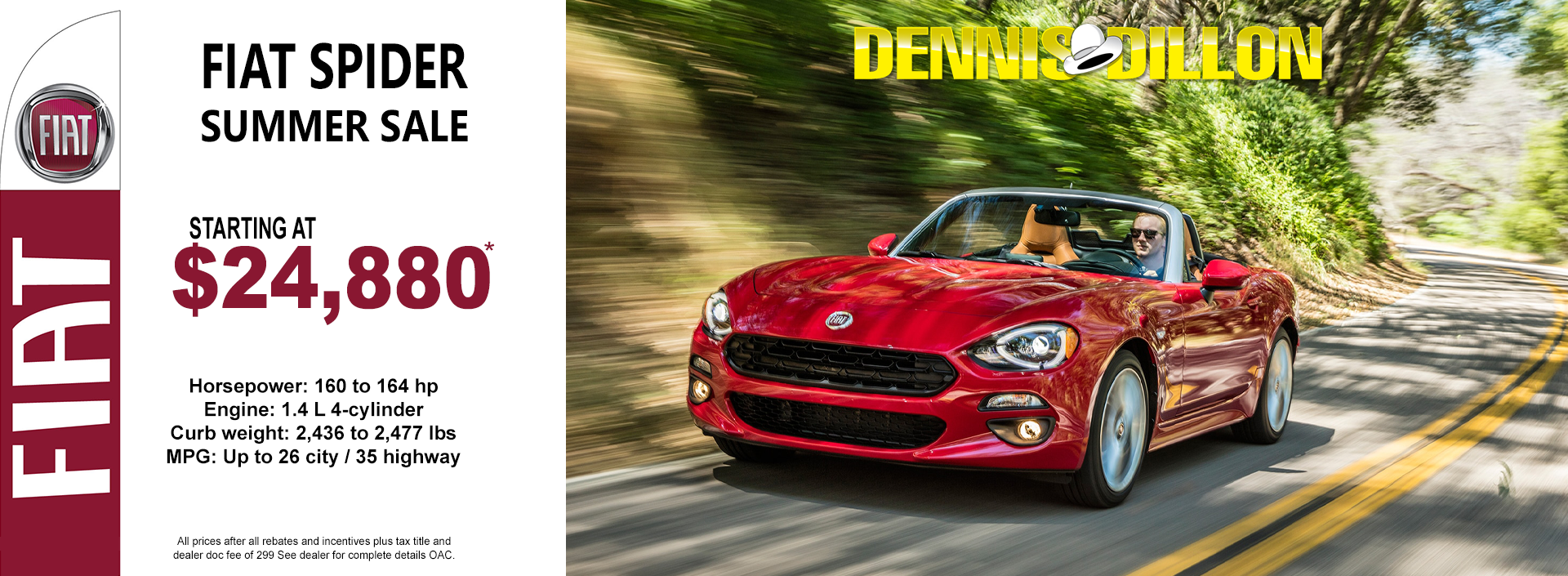 Dennis Dillon Fiat New And Pre Owned Car Dealer Service In Boise Id
