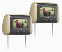 Headrest TV's