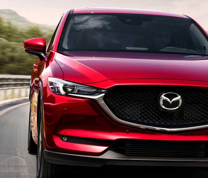 2019 Mazda CX-5 Driving in Road