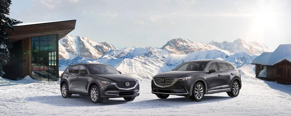 2019 Mazda SUV Crossover Parked Outdoors