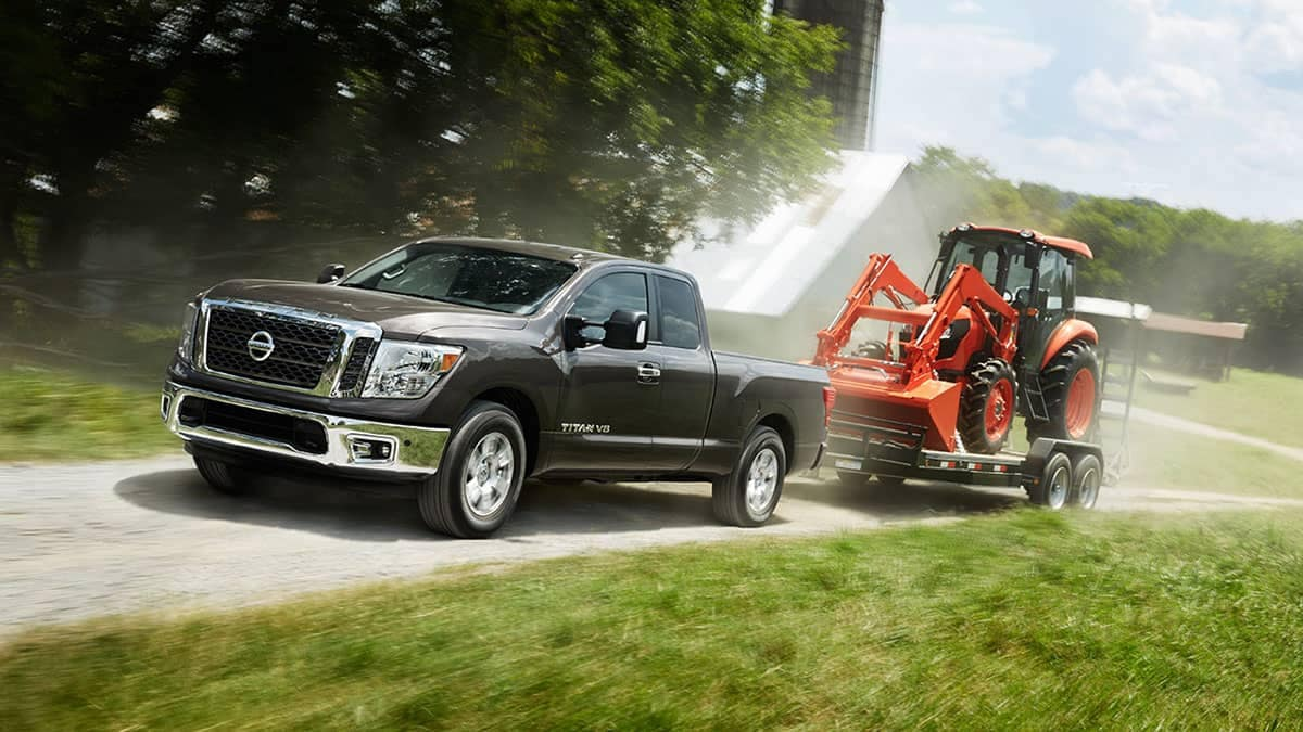 2018 Nissan Titan Towing
