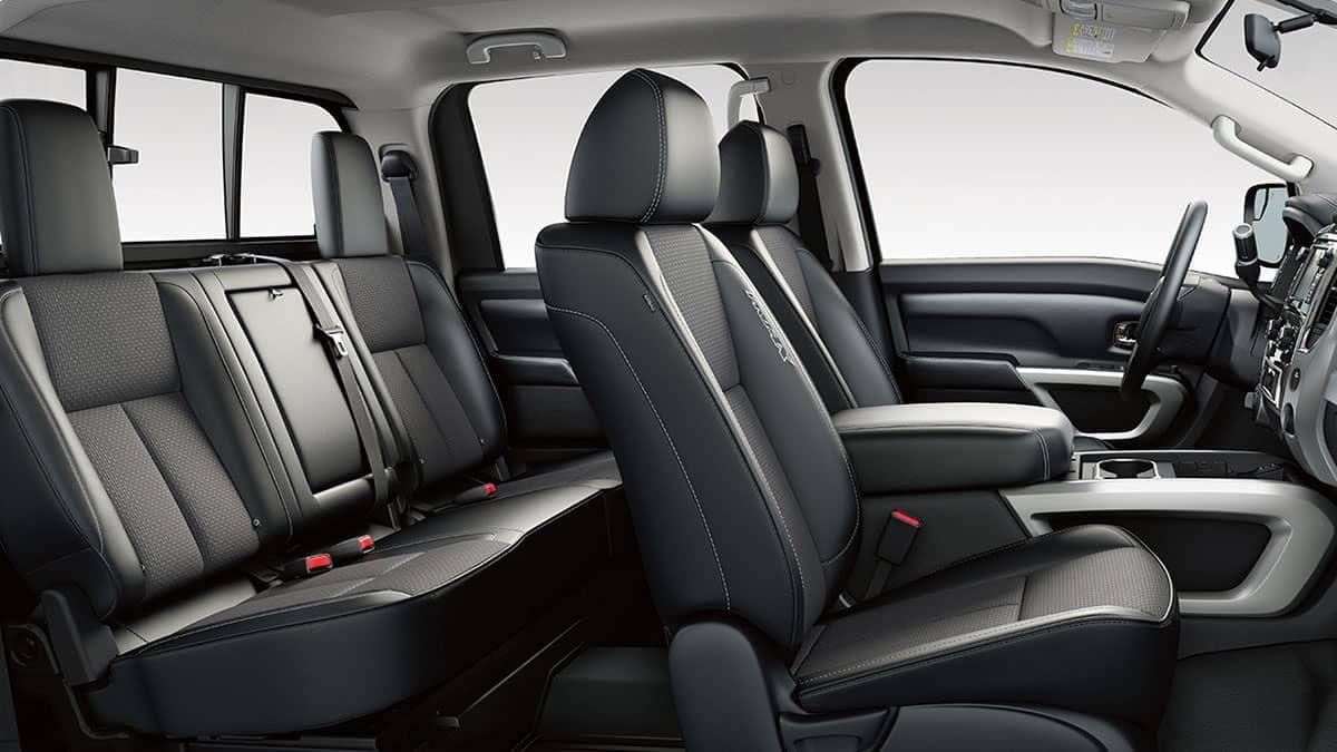 2018 Nissan Titan Interior