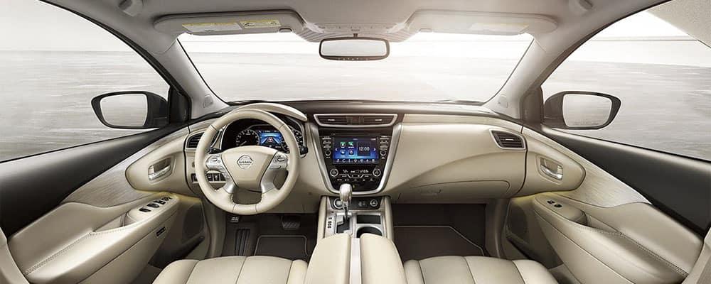 2018 Nissan Murano Crossover Open Concept Interior