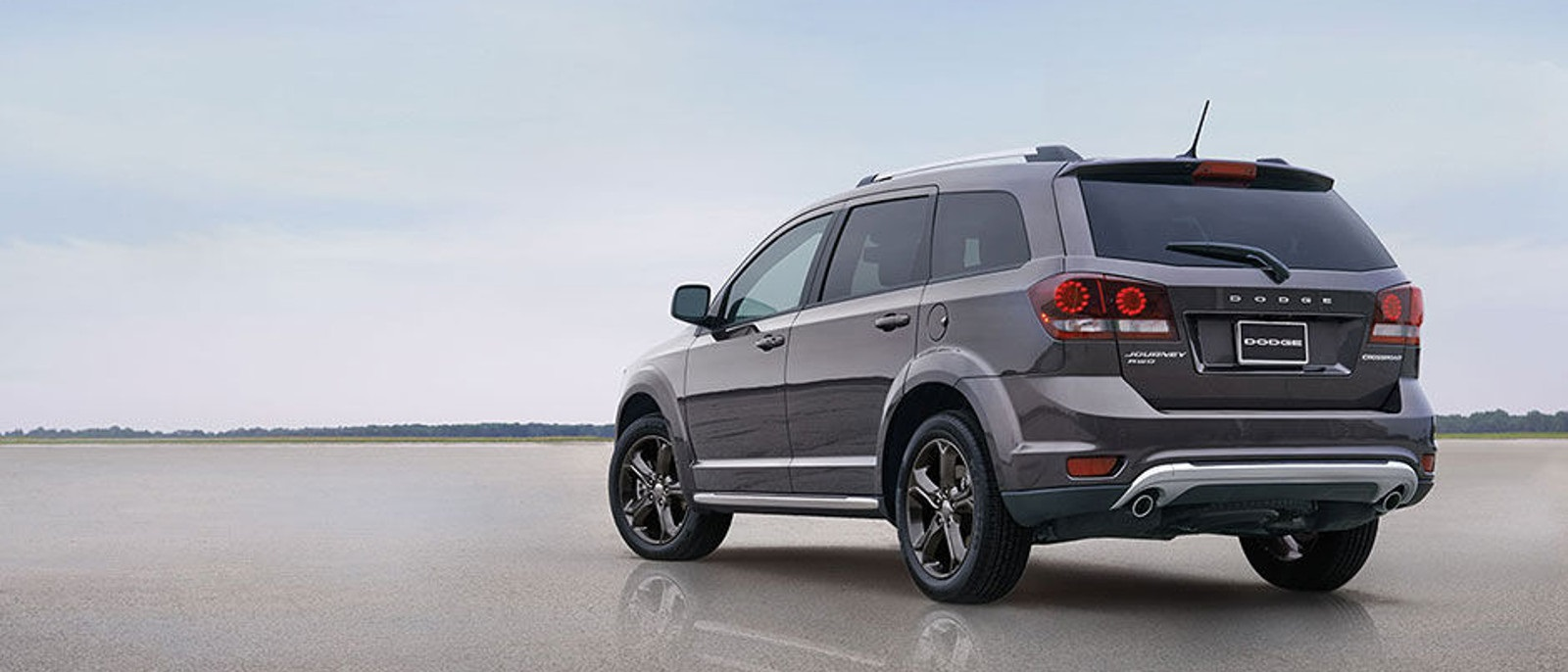 2016 Dodge Journey Gray Side Rear