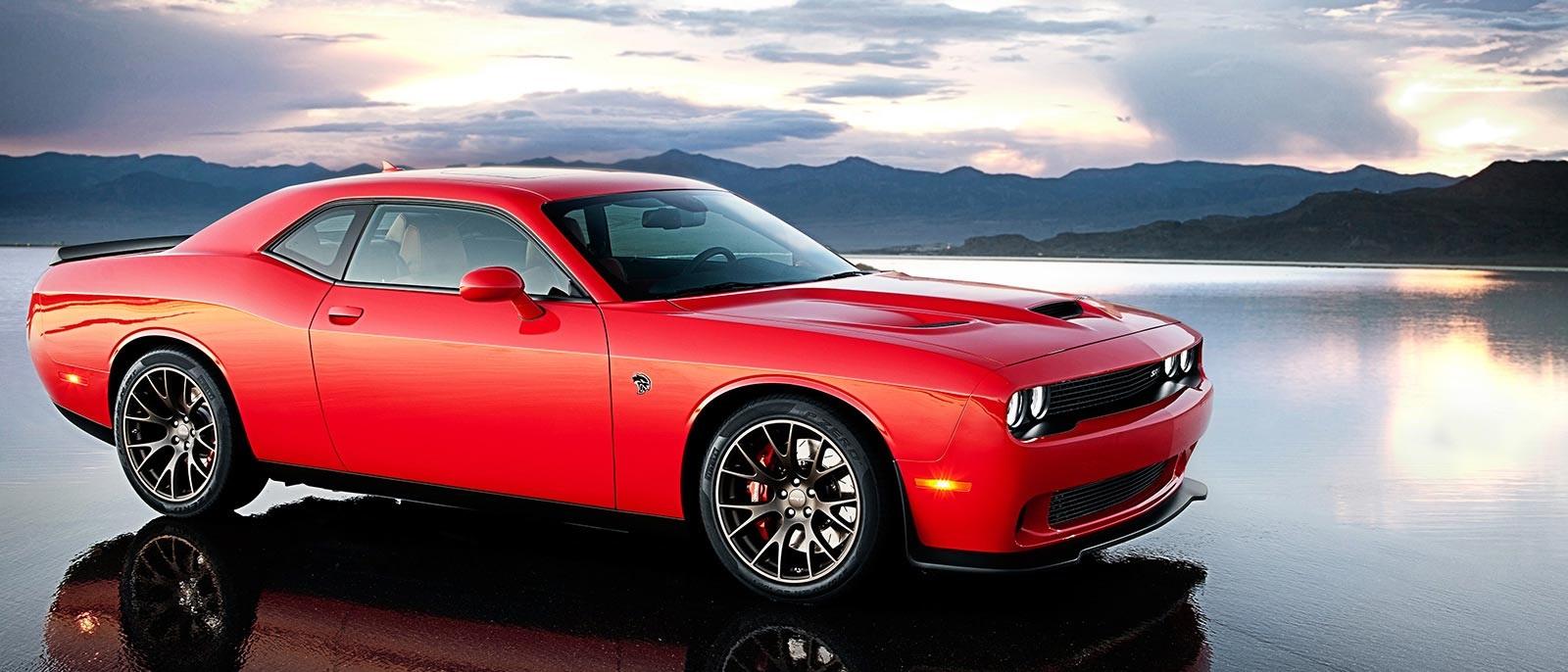 2016 Dodge Challenger Red