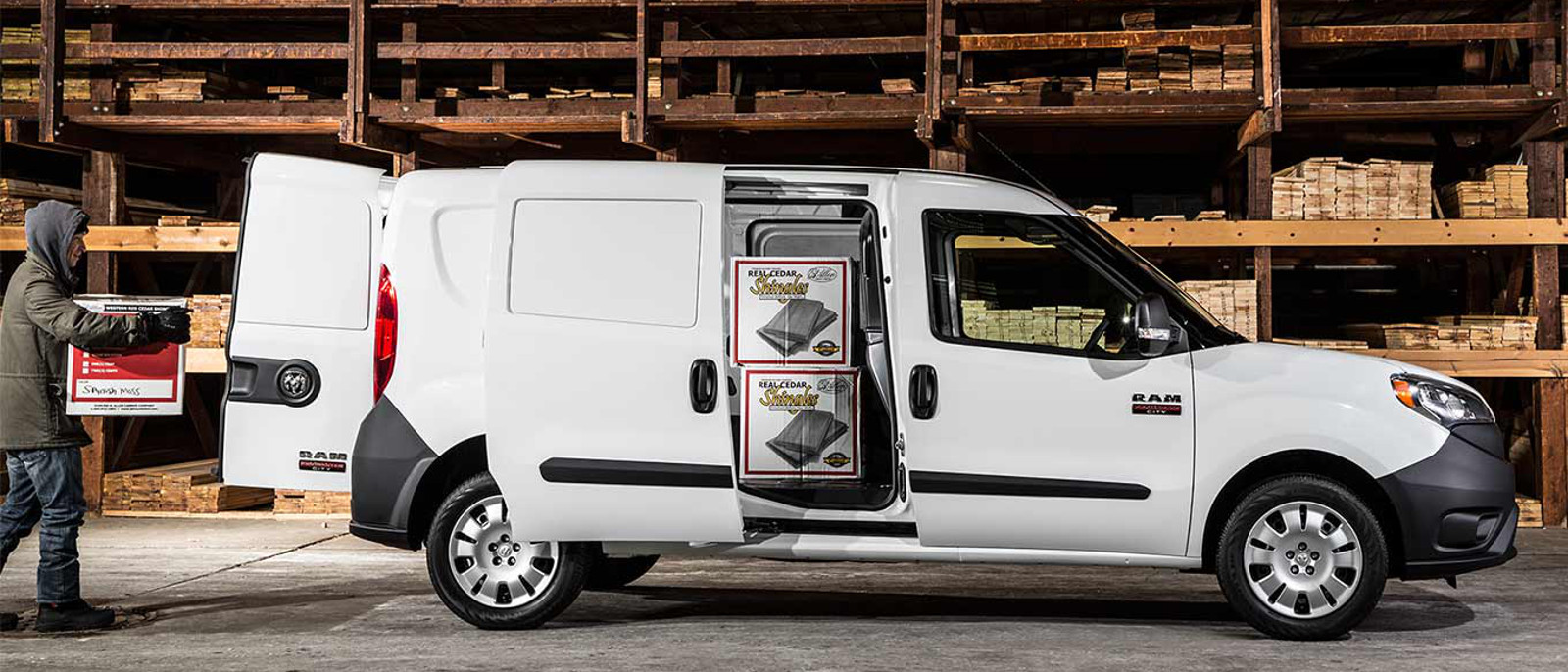 2016 Ram ProMaster City Wagon cargo area
