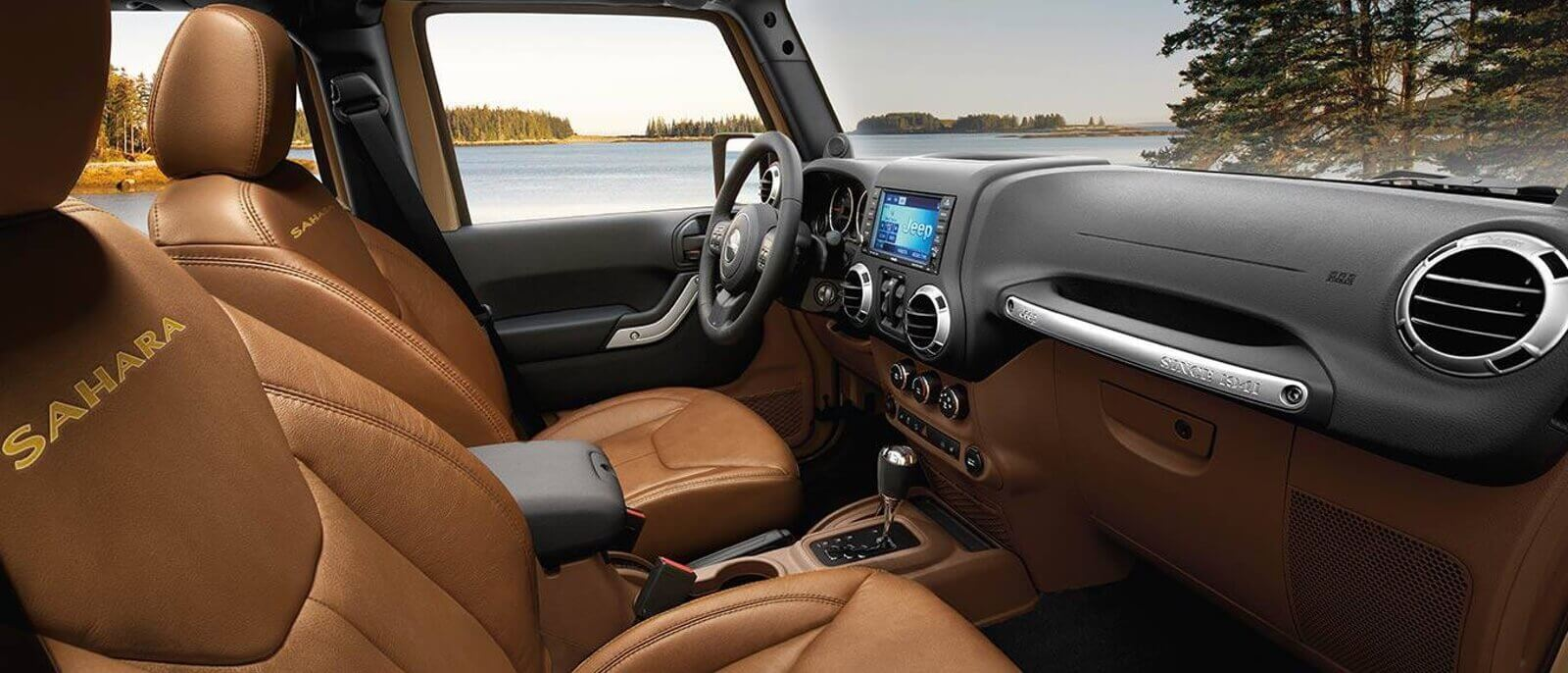 2016 Jeep Wrangler Unlimited interior