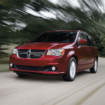2016 Dodge Grand Caravan in motion