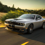 2015 Dodge Challenger driving