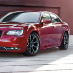 2017 Chrysler 300 parked