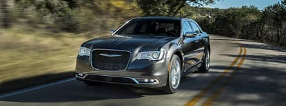 2018 chrysler 300 driving down the road