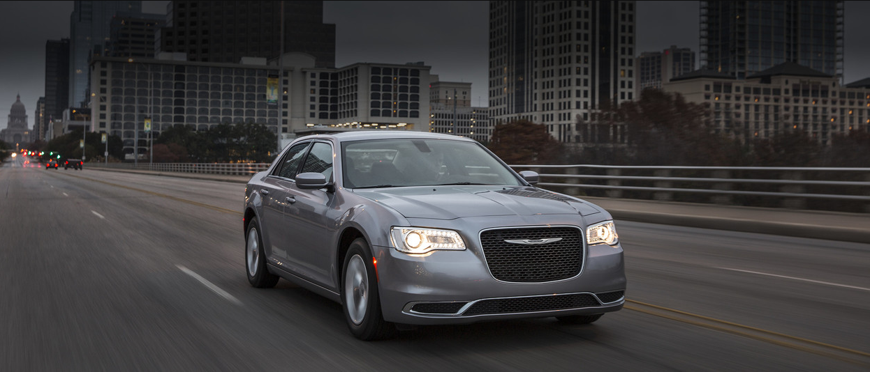 2018 Chrysler 300 grey exterior