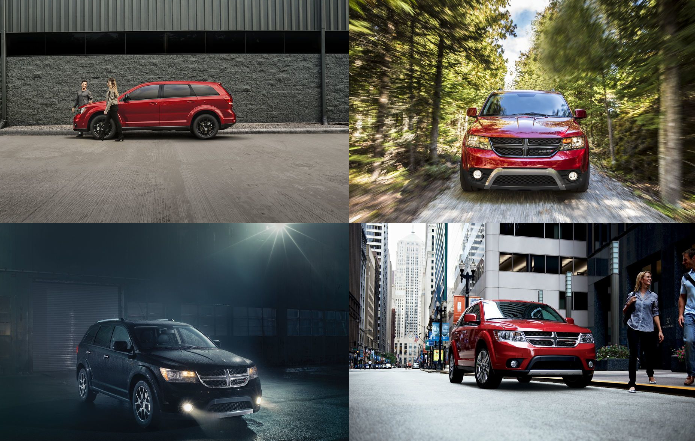 2018 dodge journey collage of photos