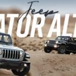 Jeep Gladiator Altitude, a new trim with a big attitude
